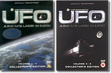 UFO Volumes 1-8 (original two DVD sets)