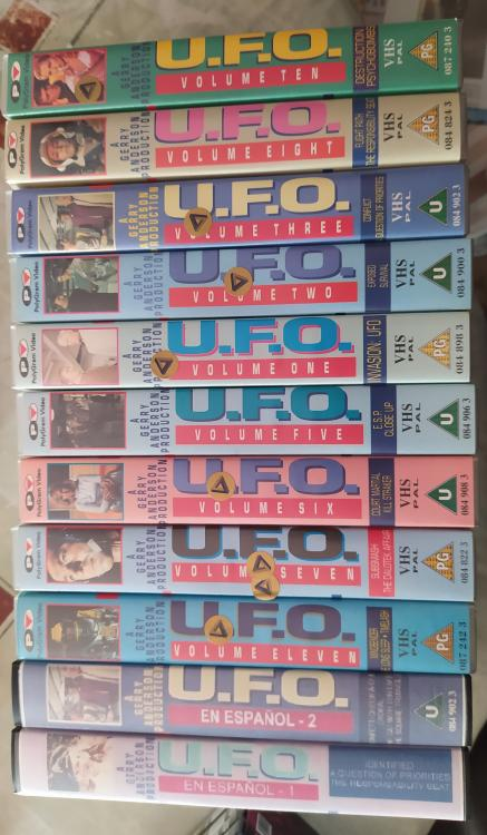 UFO VHS Tapes